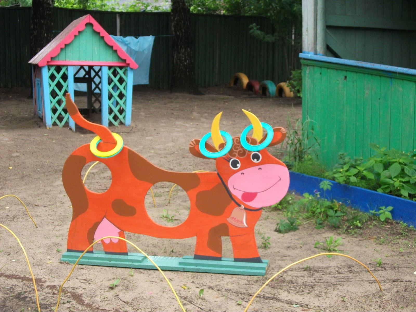 Картинки поделок на участке детского сада своими руками