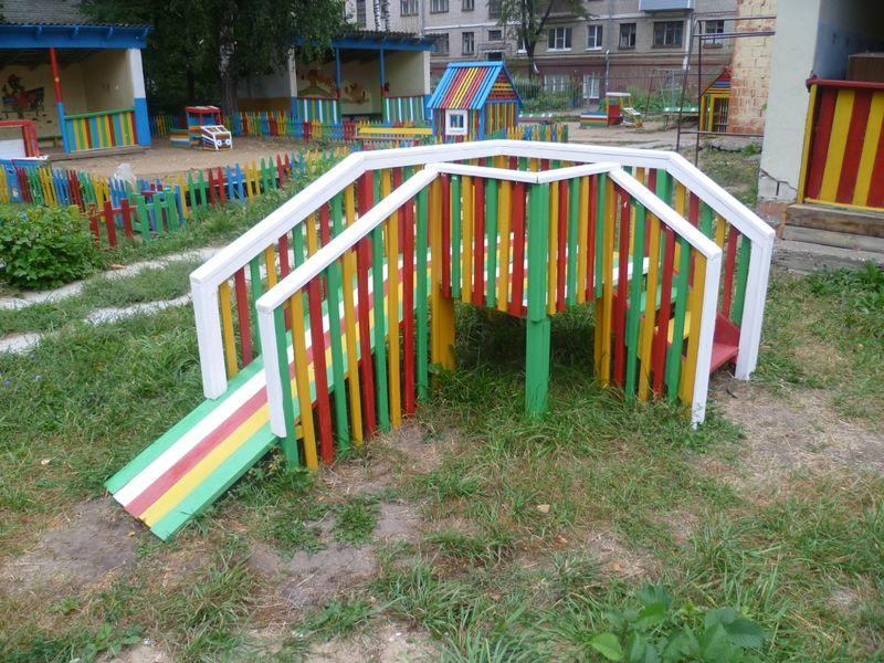 Идеи для детского сада для площадки своими руками 23